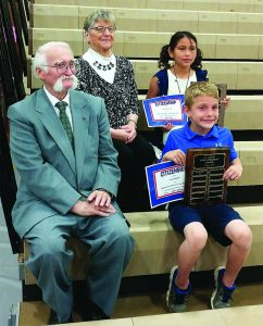 crandon elementary students honored with boyle suminski good citizen