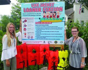 New Life Jacket Loaner Stations Make Staying Safe Easier